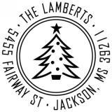 Christmas Tree Holiday Stamper by Three Designing Women CS3513