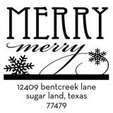 Merry Merry Holiday Stamper by Three Designing Women CS3523
