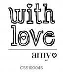 Custom Self-Inking Address Stamper by Three Designing Women CSS10004S