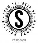 Custom Self-Inking Address Stamper by Three Designing Women CSS10006R
