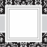Toile Black Stickers by Three Designing Women