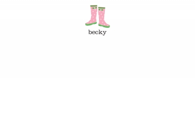 Wellies Stationery Personalized by Boatman Geller