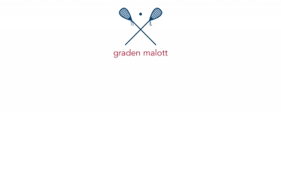 Lacrosse Stationery Personalized by Boatman Geller