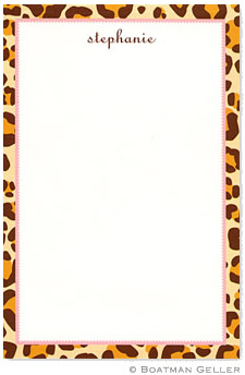 Leopard Notepad