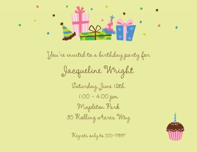Birthday Lime Invitation or Announcement Personalized by Boatman Geller