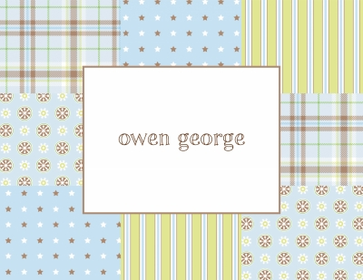 Riley Patch Boy Stationery Personalized by Boatman Geller