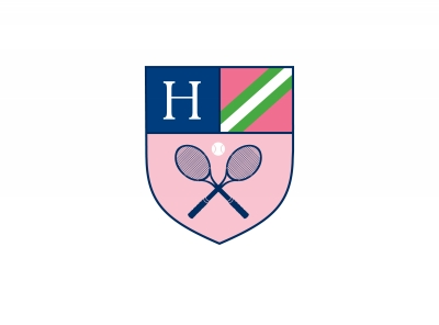 Crest Tennis Stationery Personalized by Boatman Geller