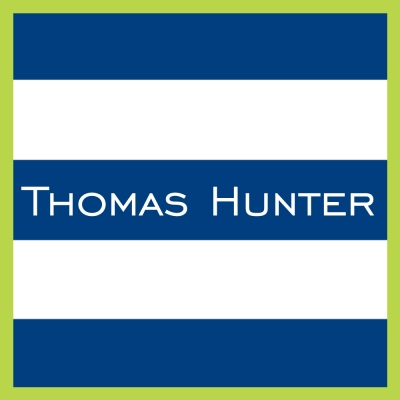 Rugby Navy Lime Personalized Sticker Personalized by Boatman Geller
