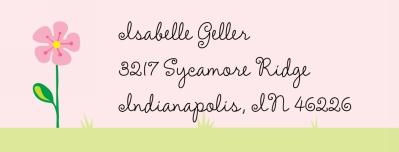 garden Personalized Sticker Personalized by Boatman Geller