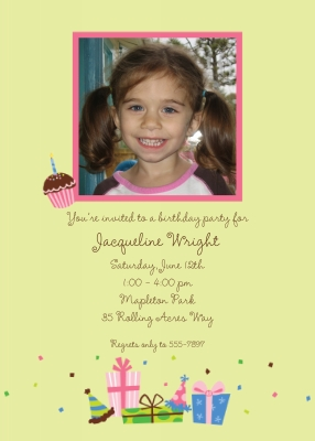 Birthday Lime Invitation Personalized by Boatman Geller