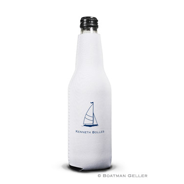 Sailboat Classic Bottle Koozie