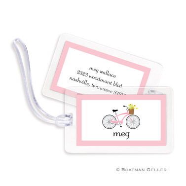 Bicycle Bag Tag