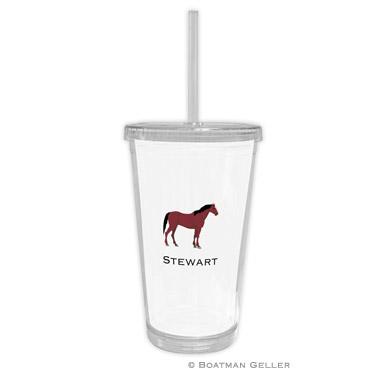 Horse Beverage Tumbler