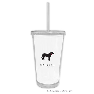 Lab Black Beverage Tumbler
