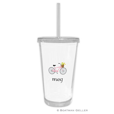 Bicycle Beverage Tumbler