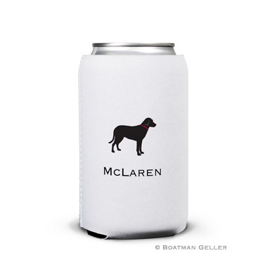 Lab Black Can Koozie