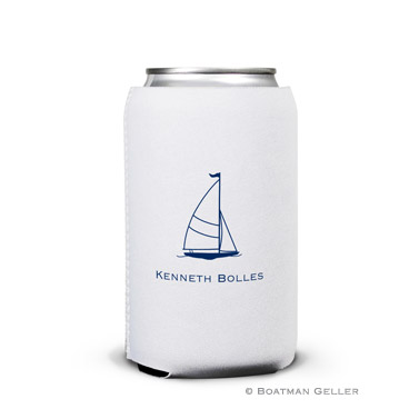 Sailboat Classic Can Koozie