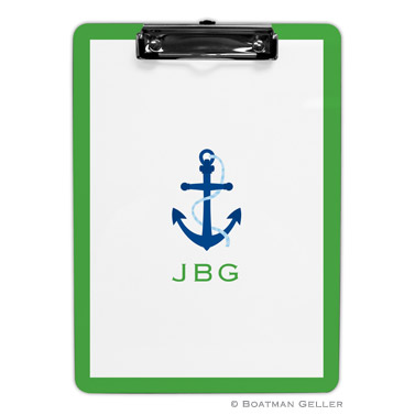 Anchor Clipboard with Border