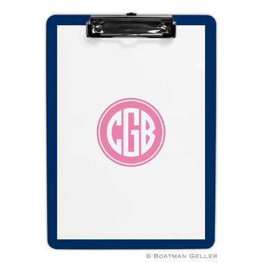 Solid Inset Circle Clipboard