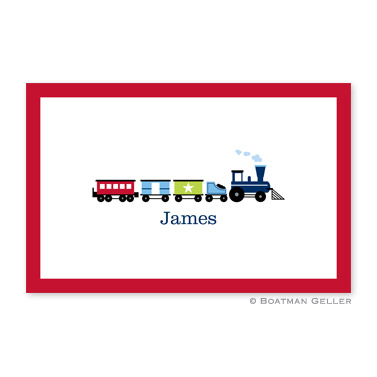 Choo Choo Train Disposable Placemats