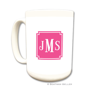 Solid Inset Square Corners Mug