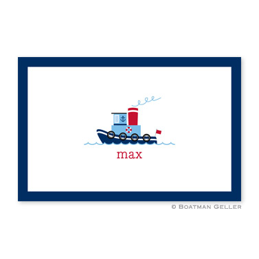 Tug Personalized Placemat