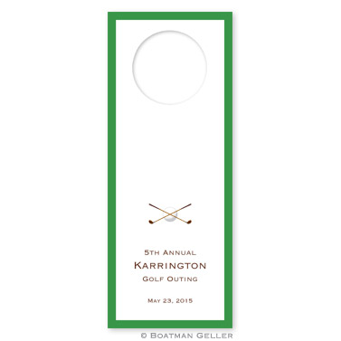 Golf Wine Tag Wine Tags - qty 8 by Boatman Geller