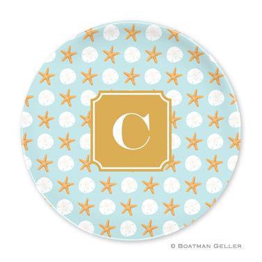 Seashore Personalized Plate Personalized by Boatman Geller