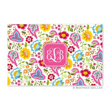 Bright Floral Disposable Placemats