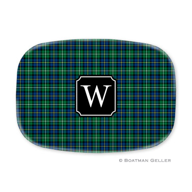 Black Watch Plaid Platter