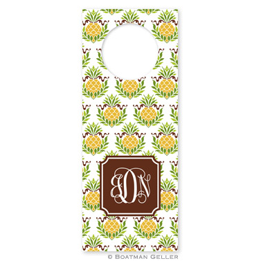 Pineapple Repeat Wine Tags - qty 8