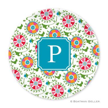 Suzani Personalized Plate