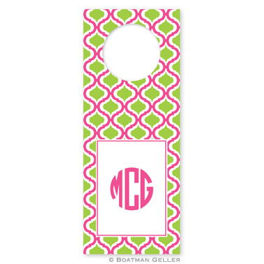 Kate Raspberry & Lime Wine Tags - qty 8