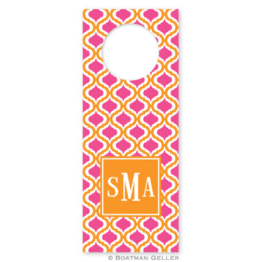 Kate Tangerine & Raspberry Wine Tags - qty 8