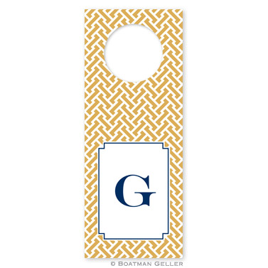 Stella Gold Wine Tags - qty 8