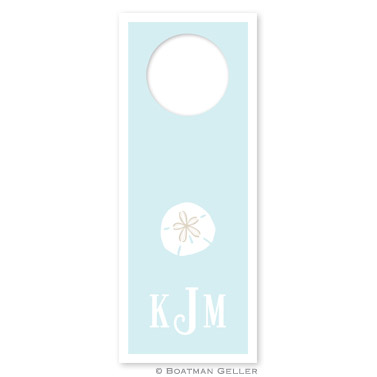 Sand Dollar Wine Tags - qty 8