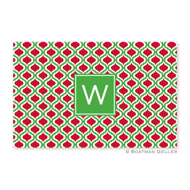 Kate Kelly & Red Disposable Holiday Placemat