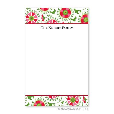Suzani Holiday Notepad