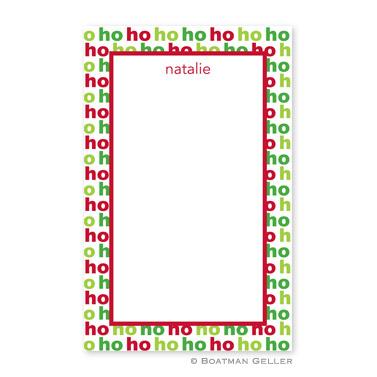 Ho Ho Ho Notepad