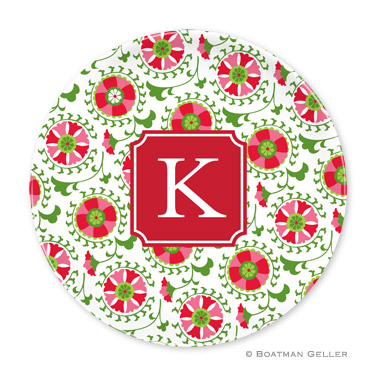 Suzani Holiday Plate