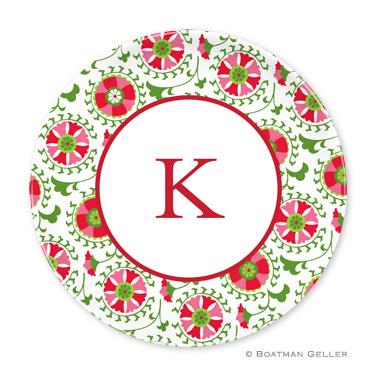 Suzani Holiday Plate