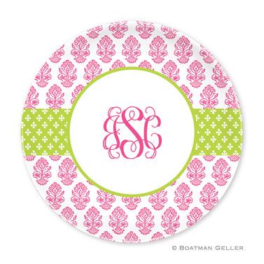 Beti Pink Personalized Plate