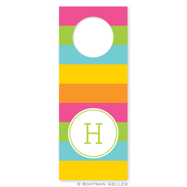Bold Stripe Wine Tags - qty 8