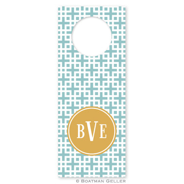 Lattice Slate Wine Tags - qty 8