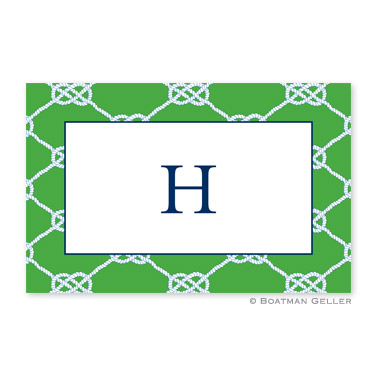 Nautical Knot Kelly Personalized Placemat