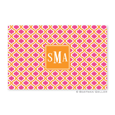 Kate Tangerine & Raspberry Disposable Placemats