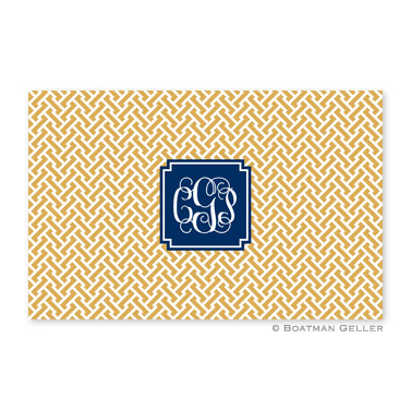 Stella Gold Disposable Placemats
