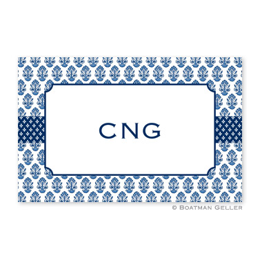 Beti Navy Personalized Placemat