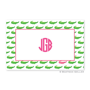 Alligator Repeat Personalized Placemat