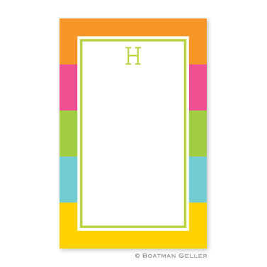 Bold Stripe Notepad
